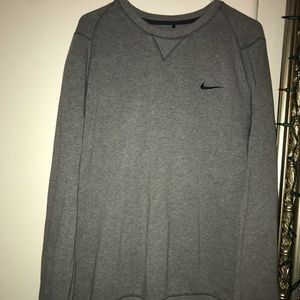 Men's Grey Nike sweater